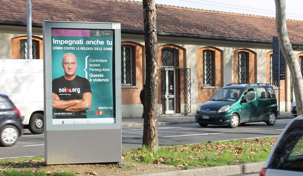 Campagna affissioni NoiNo.org